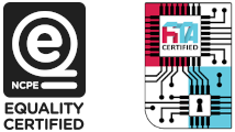 NCPE eQuality and FITA Certified logos