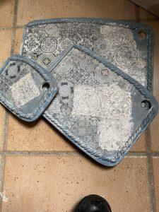 Photo of ceramic plates by Joanna La Rosa