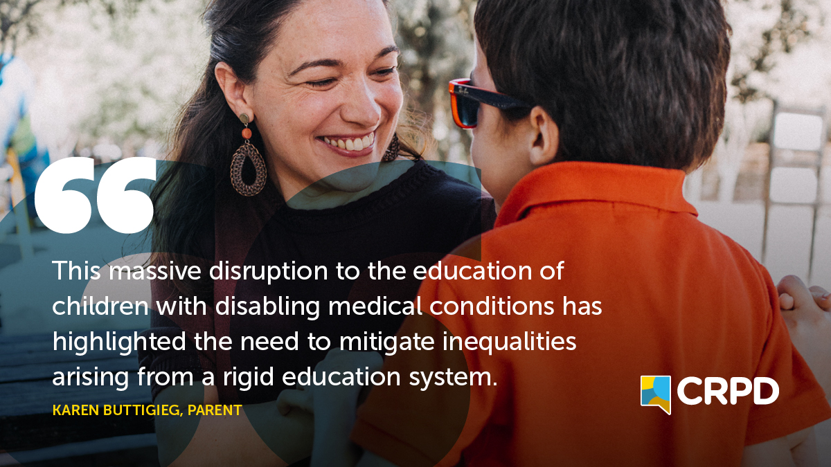 This massive disruption to the education of children with disabling medical conditionshas highlighted the needtomitigateinequalitiesarising from a rigideducation system.